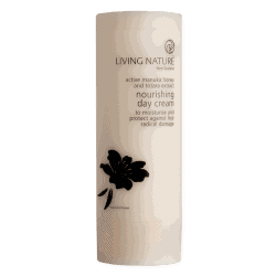 Bottle of Living Nature Organic Nourishing Day Cream, 50ml
