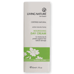 Box of Living Nature Organic Nourishing Day Cream, 50ml