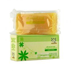 Bar and Box of Cherub Rubs - Organic Lemon Myrtle Soap, 100g