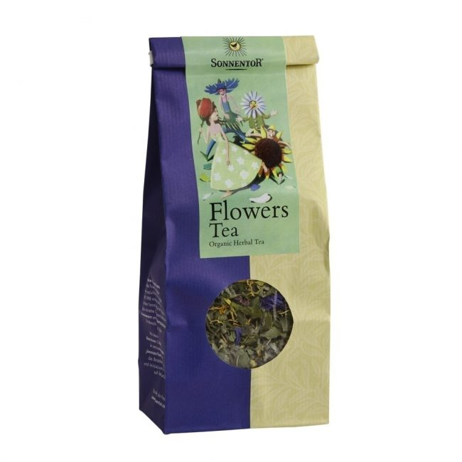 Sonnentor Organic Flowers Herbal Tea, 40g