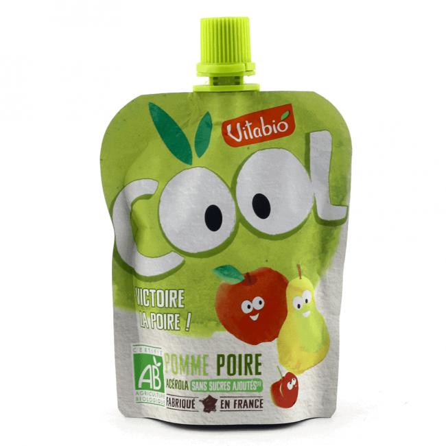 Vitabio Cool Fruit - Organic Apple & Pear Juice, 90g
