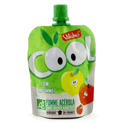 Packet of Vitabio Cool Fruit - Organic Apple Juice, 90g