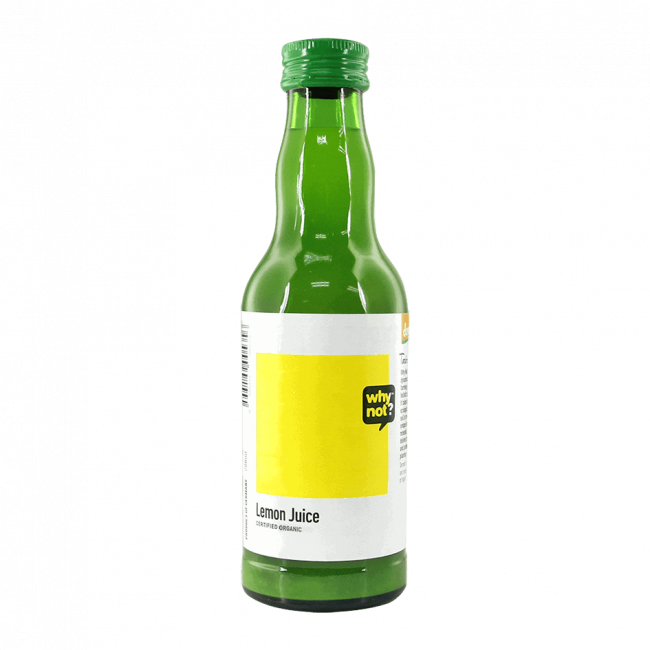 Why Not?® Lemon Juice Organic, 200ml
