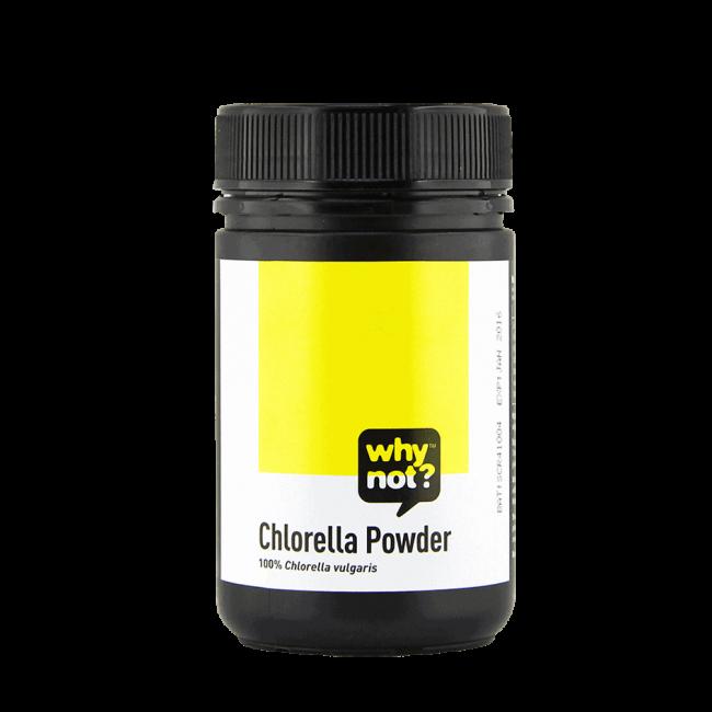 Why Not?® Organic Chlorella Powder, 180g