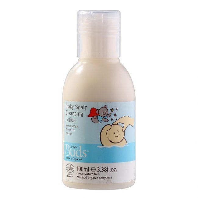 Buds Soothing Organics Flaky Scalp Cleansing Lotion, 100ml