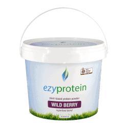 Ezyprotein Organic Wild Berry Silk Superfood Blend 800g