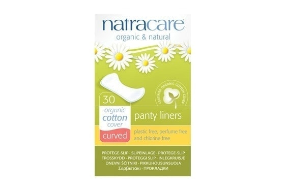 Natracare Curved Panty Liners, 30pc
