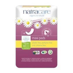 Natracare Natural Maxi Pads Regular 14pc