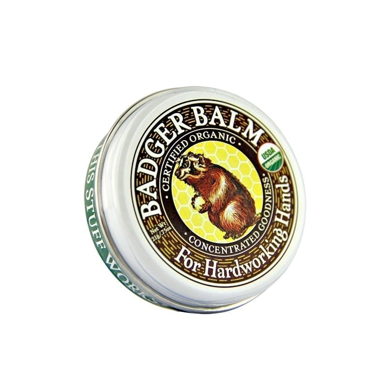 Container of Badger Organic Balm Hardworking, 0.75oz