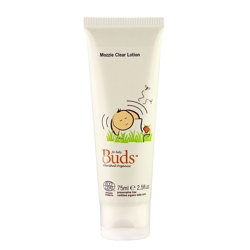 Tube of Buds Cherished Organics - Mozzie Clear Lotion, 75ml