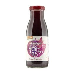 Bottle of Voelkel® Fair To Go Juice Grape Pomegranate 250ml