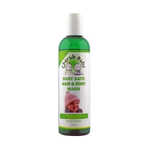 Cherub Rubs Organic Hair & Body Wash, 250ml