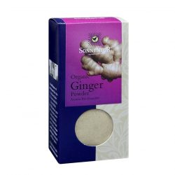 Front view of package of Sonnentor Ginger Powder Herbal Blend