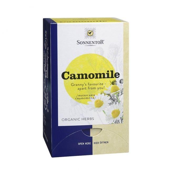 Sonnentor Organic Camomile Tea, 18 tea bags