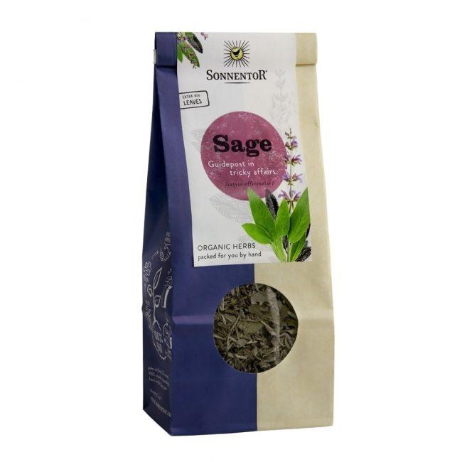 Sonnentor Organic Sage Tea, 50g