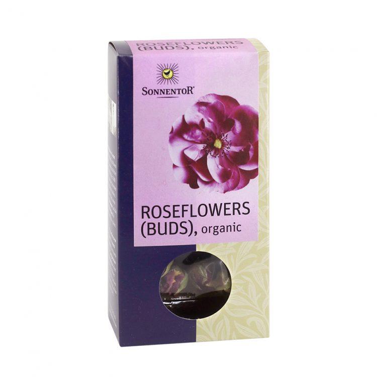 Sonnentor Organic Rose Flower Buds, 30g