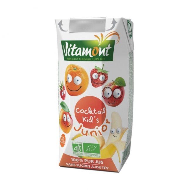 Vitamont Organic Kid's Cocktail, 200ml