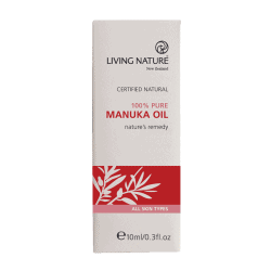 Box of Living Nature Organic Manuka Oil, 10ml
