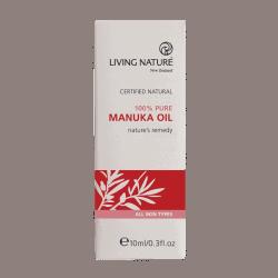 Box of Living Nature Organic Manuka Oil, 10ml