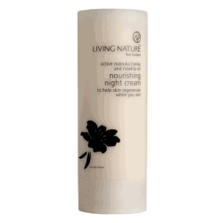 Bottle of Living Nature Organic Nourishing Night Cream, 50ml