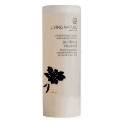 Bottle of Living Nature Organic Purifying Cleanser, 100ml