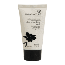 Tube of Living Nature Organic Ultra Nourishing Mask, 50ml