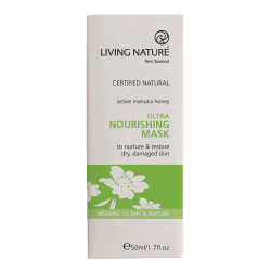 Box of Living Nature Organic Ultra Nourishing Mask, 50ml