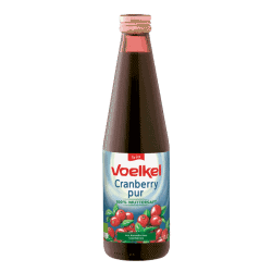 Voelkel Organic Cranberry Juice 750ml