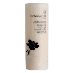 Bottle of Living Nature Balancing Night Gel (50ml)
