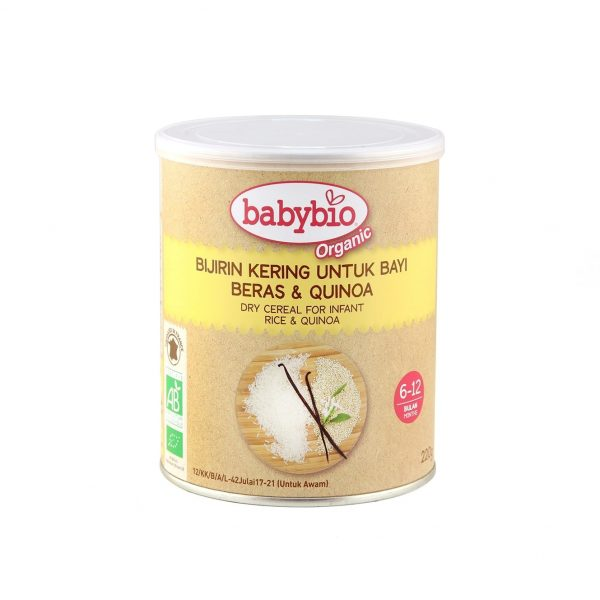 Babybio Organic Dry Cereal for Infant, 220g