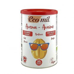Tin of Ecomil Organic Oat Drink Powder, 400g