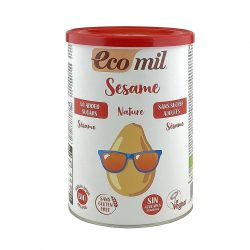 Tin of Ecomil Organic Sesame Drink Powder, 400g