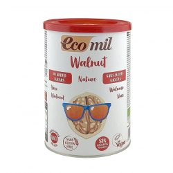 Tin of Ecomil Organic Walnut Drink Powder, 400g