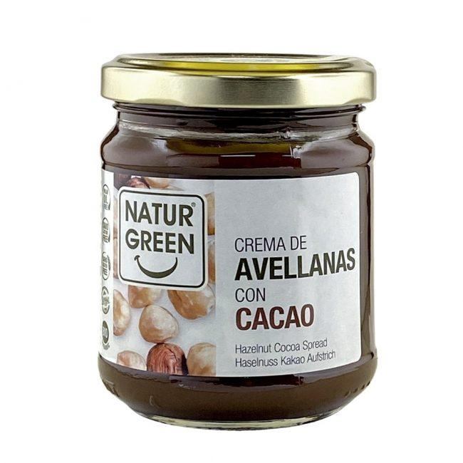 NaturGreen Organic Hazelnut and Cocoa Spread, 200g
