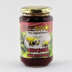 Bottle of Beeshop Bittergourd Wild Raw Honey