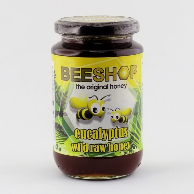 Beeshop Eucalyptus Wild Raw Honey, 491g