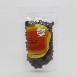 Packet of The Bites' Sultana raisins