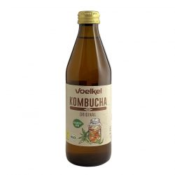 Bottle of Voelkel Organic Kombucha Original