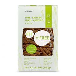 Packet of ALB-GOLD Organic Gluten-Free Lentil and Chesnut Pasta, 300g