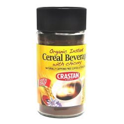 Bottle of Crastan Organic Instant Cereal - Chicory, 125g