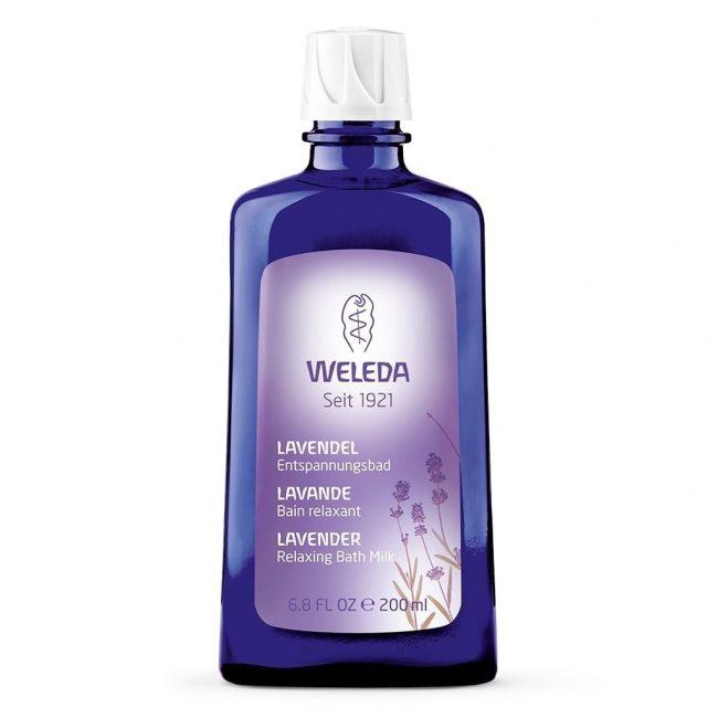Weleda Organic Lavender Relaxing Bath Milk, 200ml