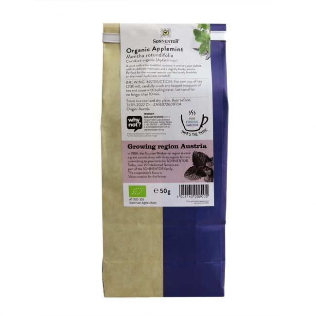 Sonnentor Organic Applemint Tea, 50g