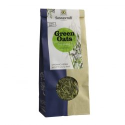 Front view of a packet of Sonnentor Organic Green Oats Tea (50g)