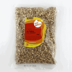 Packet of The Bites Organic Rye Flakes, 300g