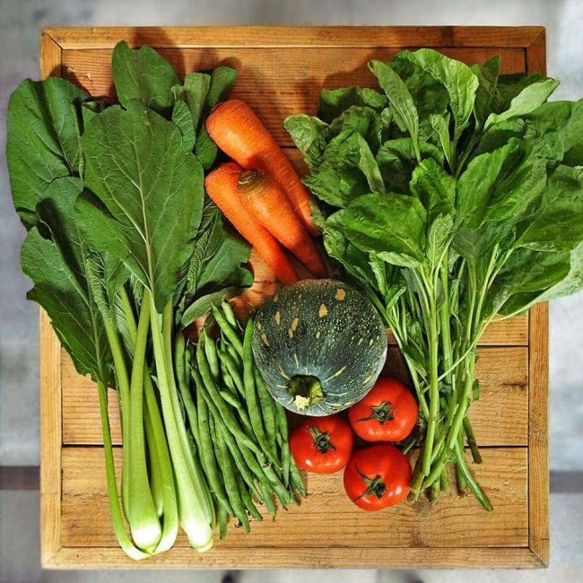 Seasonal Organic Vege Box, 2.5kg