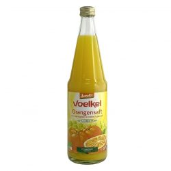 Bottle of Voelkel Biodynamic Orange Juice, 700ml