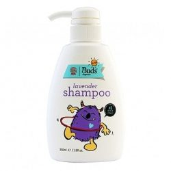 Bottle of Buds Organic Lavender Shampoo (350ml)