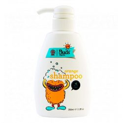 Bottle of Buds for Kids Orange Shampoo (350ml)