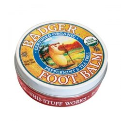 Container of Badger Organic Foot Balm, 2oz
