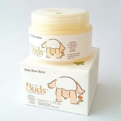 Container and box of Buds Cherished Organics - Baby Bum Balm (50ml)